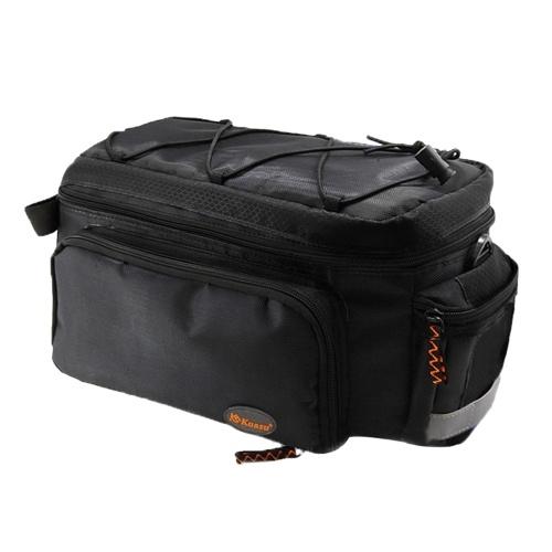 Bicycle Trunk Bag\ Cycling Rack Pack Bike Rear Bag
