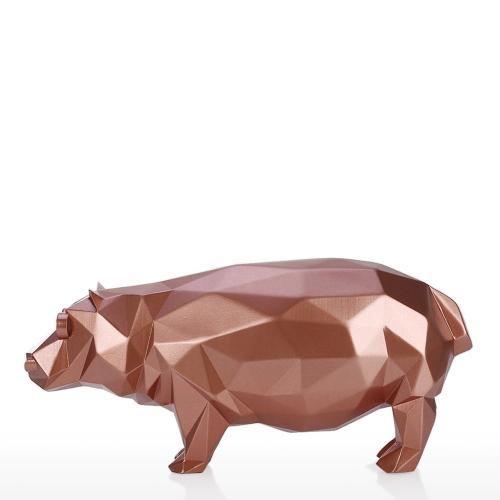 Hippo Modern Sculpture Resin Sculpture Abstract Sculpture Animal Figurine