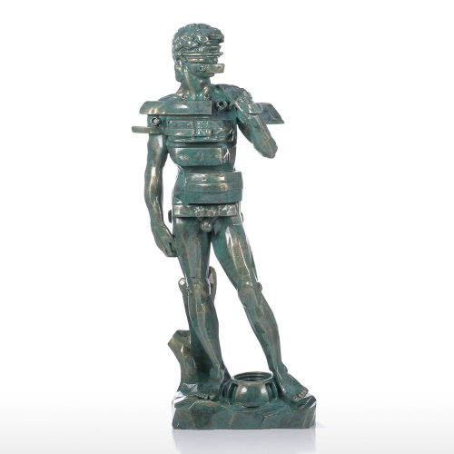 Tomfeel David avec Sculpture tiroir résine Home Decor Art Moderne Figurine