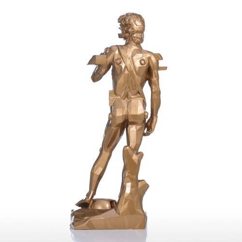 Tomfeel David with Drawer Resin Sculpture Home Decor Modern Art  Figurine