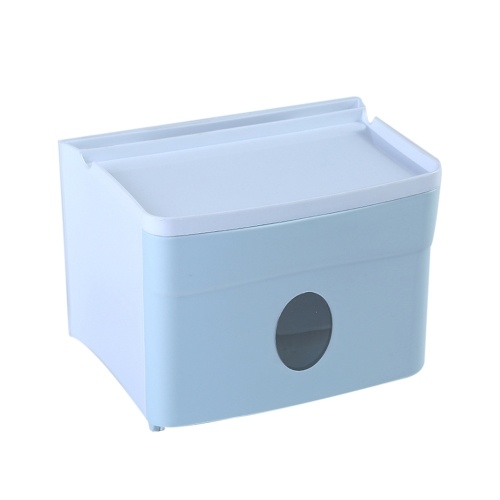 Tissue Container Multi-Functional Punch-Free Tissue Storage Box