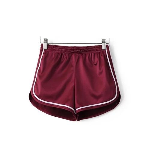 Pantalones cortos elásticos de las mujeres Cintura Pantalones cortos de las mujeres