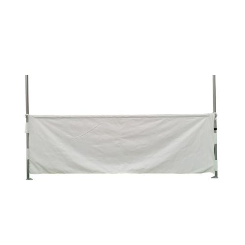 Demi rideaux 3m pour tente pliante connexion carré 32mm - Gamme ACIER 32