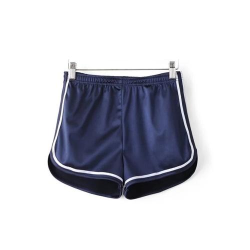 TOMTOP / Pantalones cortos elásticos de las mujeres Cintura Pantalones cortos de las mujeres