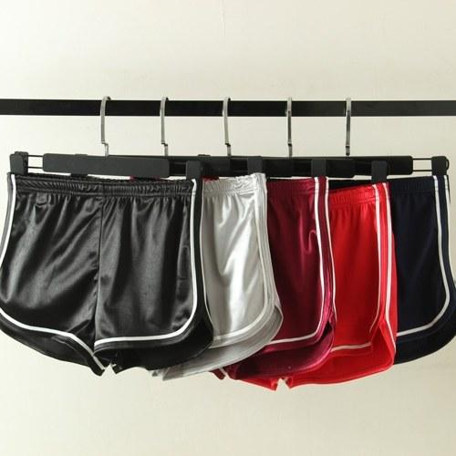 Women Elastic Shorts Waistband Women Shorts