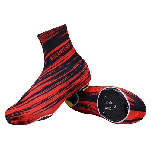 Capas para sapatos de ciclismo à prova d'água à prova de vento esportivo à prova de vento para bicicletas de estrada.