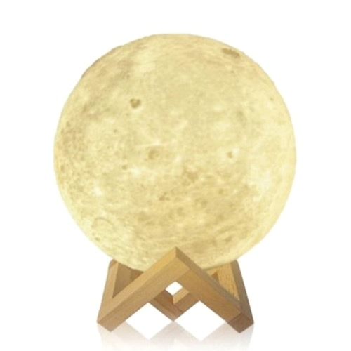 Creative Moon Lamp Tooarts  moon shape and light helps to relax and sleep