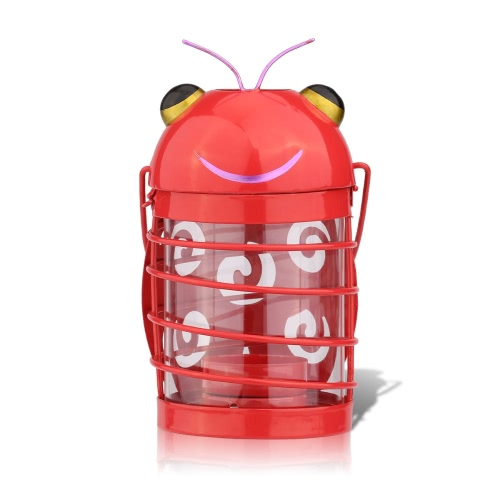 beetle candle holder(red) Hurricane lamp Practical ornament Creative ornament  Home Furnishing Articles