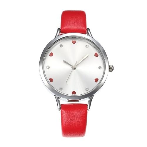 Reloj de cuero simple de la