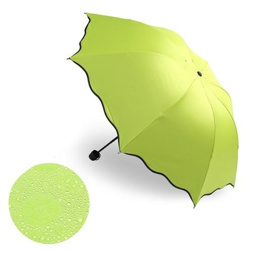Дождь ветрозащитный солнцезащитный крем волшебный цветок купол зонты от ультрафиолетового излучения складной солнечный дождливый зонтик
