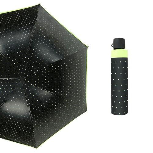 3 складной дорожный зонт волна точка цвет клея арка телескопическая мода анти-ультрафиолетовый защиты от дождя зонтик
