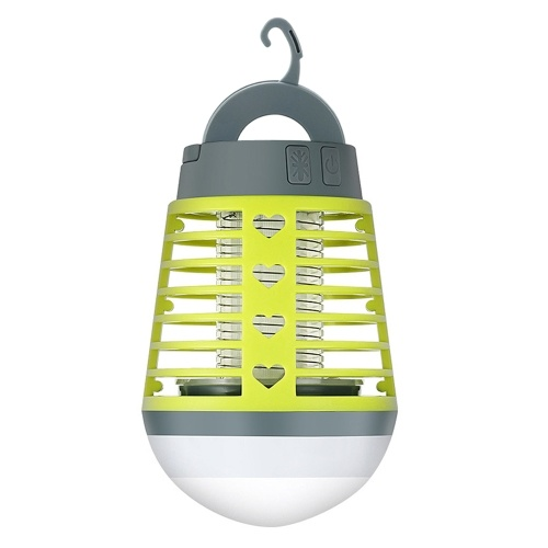 2-in-1 Eletric Lamp Waterproof Camping Lantern