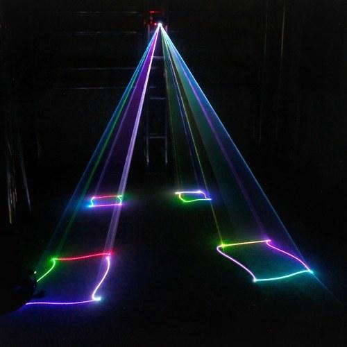 Свет этапа СИД лазера светильника репроектора DMX512 анимации с дистанционным управлением
