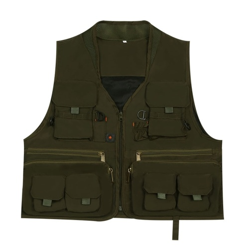 Quick Dry Fly Fishing Vest Breathable Fishing Jacket