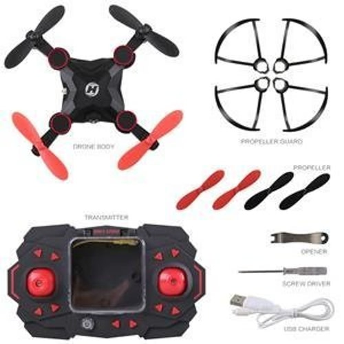 Holy Stone HS190 Mini RC Drone 2.4Ghz Gyro à 6 axes Nano Quadcopter avec Altitude Hold, 3D Flips et Headless Mode pour débutants