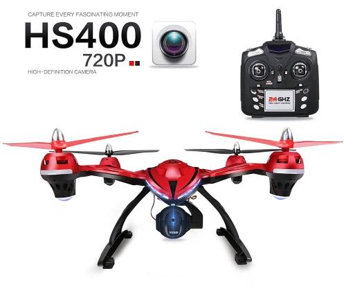 FPV Drone z regulowaną kamerą HD, kamień szlachetny HS400 RC z uchwytem wysokości, jeden klucz powrotny i tryb bez głowy, zawiera baterię bonusową