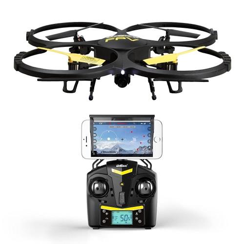 Force1 UDI U818A Wifi FPV Drone avec caméra HD, télécommande, casque VR et Power Bank