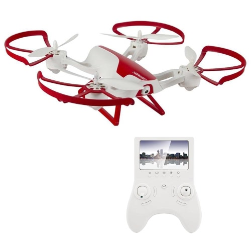 Hornet FPV Drone com câmera HD 720p - Force1 RC Quadcopter com Altitude Hold, Return Home, Headless Mode e One Touch Flips e Tricks - Inclui Baterias Extra para Drone e Controlador