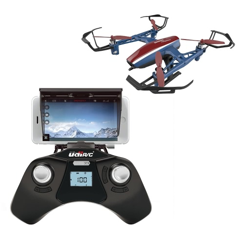 U28W Wifi FPV Drone с HD-камерой и видео в реальном времени - Дистанционное управление Quadcopter Drone с высотой Hold - Легко летать Drone для начинающих и опытных пилотов - с дополнительной батареей