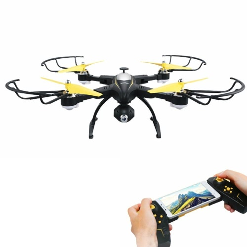 Rabing RC Drone Foldable FPV VR Wifi RC Quadcopter 2.4 GHz 6-Axis Gyro Remote Control Drone com 720P HD 2MP Camera Drone