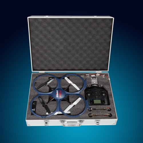 Drone Carrying Case for UDI U818A Wifi FPV - Great Accessories for Easily Carrying Quadcopters