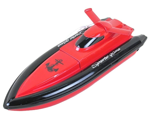 CSFLY-DeXop Rc Boat Only Works In Water With High Speed-Red(The Motor And Paddle Only Work When Touching The Water,No Responds On The Land)