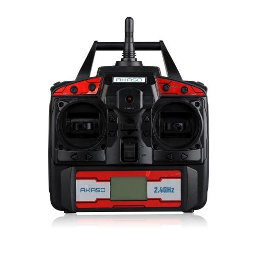 Акасо X5C 4-канальный 2,4-ГГц 6-осевой гироскоп безголового 360-градусного 3D-режима прокатки RC Drone Quadcopter с HD-камерой, Micro SD-картой и лезвиями