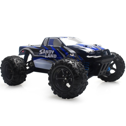 Remote Control Car, Terrain RC Cars, Electric Remote Control Off Road Monster Truck, 1:18 Scale 2.4Ghz Radio 4WD Fast 30+ MPH RC Car, with 2 Rechargeable Batteries