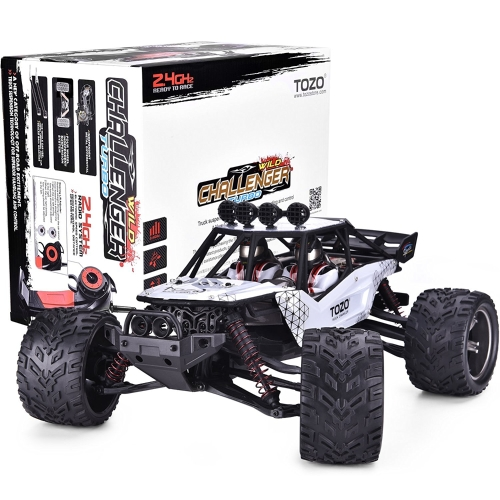 TOZO C2035 RC CARS High Speed 30MPH 1/12 Scale RTR Remote control Brushed Monster Truck Off road Car Big Foot RC 2WD ELECTRIC POWE