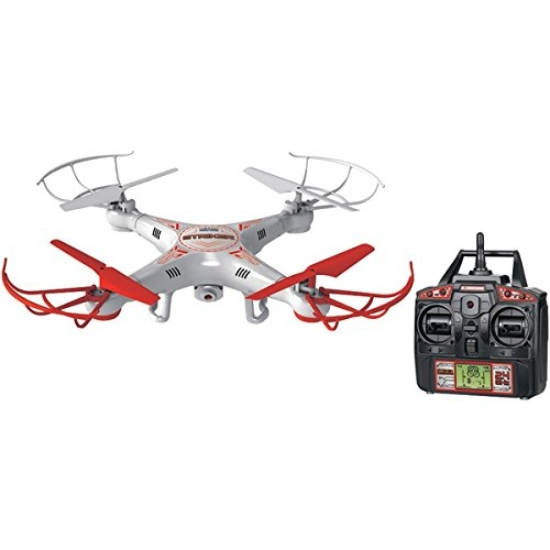 World Tech Toys 2.4 GHz 4.5 Channel Striker Spy Drone Zdalnie sterowany Quadcopter
