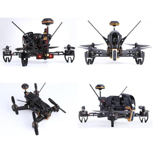 Walkera F210 FPV Racing Drone RC Quadcoper RTF (Devo 7 + Bateria + Câmera + Carregador OSD +)