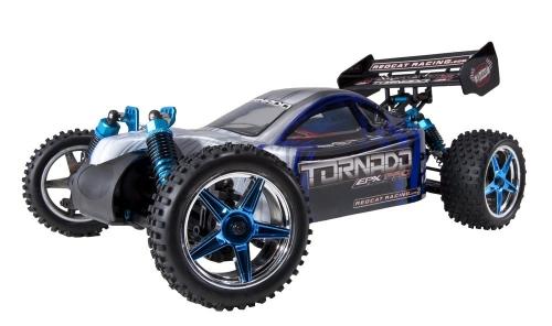 Redcat Racing Buggy elettrico Tornado EPX PRO senza spazzole con radio a 2,4 GHz, batteria del veicolo e caricabatterie inclusi (scala 1/10)