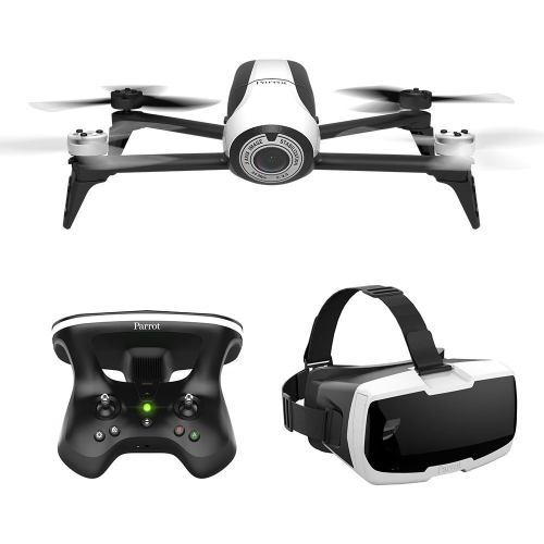 Parrot Bebop 2 FPV - Jusqu'à 25 minutes de vol, lunettes FPV, drone compact