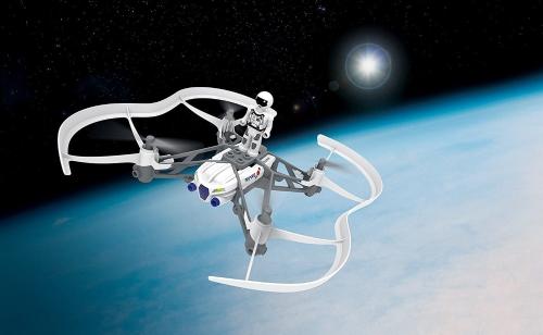 Parrot 46008BBR Airborne Cargo Mini Drone, White
