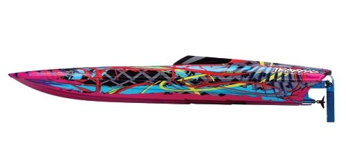 Traxxas DCB M41 Brushless Katamaran Boot mit TQi 2,4 GHz Radio und TSM