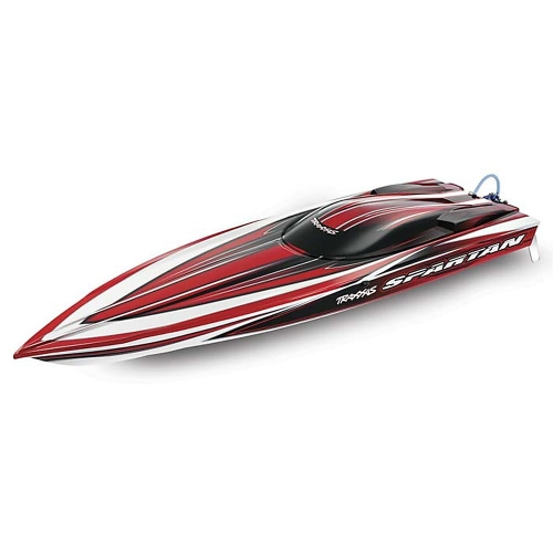 Traxxas 57076 Spartan Brushless Muscleboat, Colors Vary