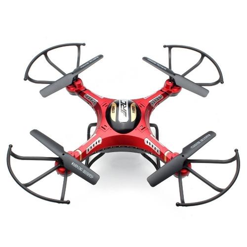 Kingtoys @ Jjrc H8d 4-канальный 2.4гц гироскопа Rc Quadcopter 5.8g Передача изображений Rc Explorers Quad Copter Drone с 2-мегапиксельной камерой HF FPV Безголовый режим + 4 шт. Свободная батарея 3.7V 500mah Лучшие рождественские подарки