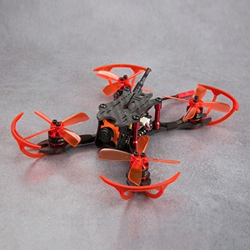 iFlight Strider X2 Brosse Micro Quadcopter FPV Brushless (Kit 122mm + Caméra Runcam Micro Swift avec moteur TX25 VTX + 1106 Brushless + F3 avec OSD 10A DSHOT 4-IN-1 ESC Stack) (avec récepteur fd800)