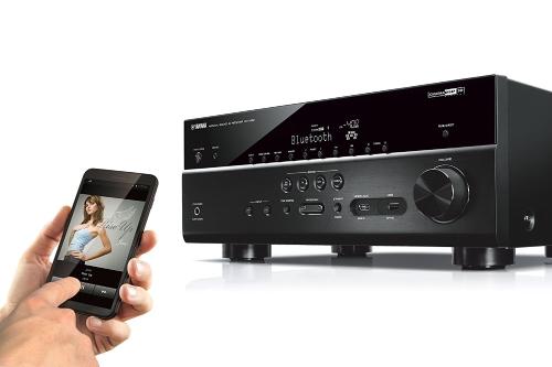 ヤマハRX-V681BL 7.2チャンネルMusicCast AVレシーバー(Bluetooth付)