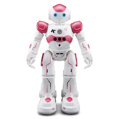 2018 Telecomando RC Robot, 3C-LIFE JJRC R2 CADY WINI Controllo di gesti di danze intelligenti Robot giocattolo Robot Kit Robotico Regali di Natale per bambini in età prescolare Intrattenimento - Rosa