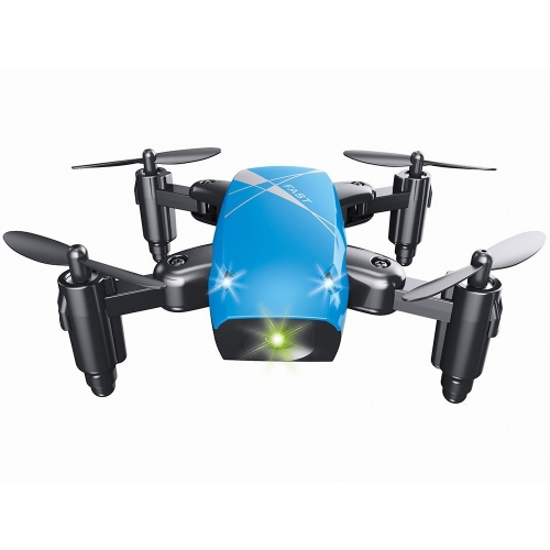 Le drone de Quadcopter de commande à distance de Cewaal S10, 360 renversements ont placé le contact simple d'un seul contact du drone de mode sans tête sans appareil-photo pour le long temps de vol