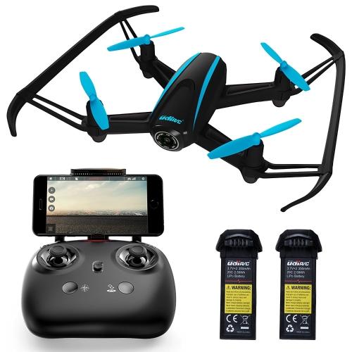 Force1 HD Drone avec caméra - Drones caméra RC pour les enfants et les pros - U34W Dragonfly Drone avec caméra vidéo en direct, Altitude Hold & Wi-Fi FPV - Drones Quadcopter faciles à piloter pour les débutants
