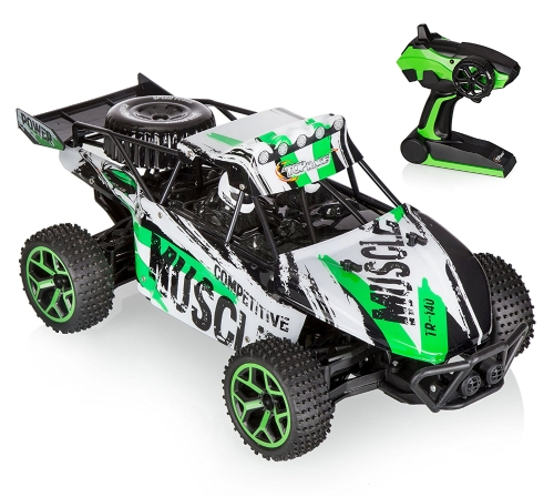 Top Race Remote Road Racer, RC Monster Truck 4WD, High Speed ​​Car, 2.4Ghz (TR-140)