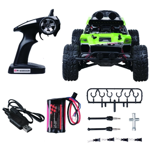 Remote Control Car, Rolytoy 4WD 1:12 Scale High Speed 48km/h All Terrain RC Cars with 1500mAh Rechargeable Batteries, Electric RC Off Road Monster Trucks,2.4Ghz Radio Control Buggy Crawler, Upgraded