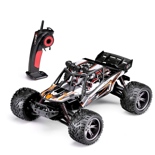 HOSIM RC Truck 9123, 1/12 Scale Radio Controlled Electric Fast Racing Car - High Speed 38km/h Offroad 2.4Ghz 2WD Radio Controlled Monster Truck Truggy - Best Gift for all Car Enthusiast
