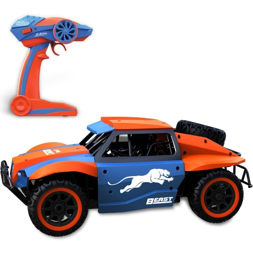Kids Remote Control Car | RC Beast | Fast, Thrilling and Smooth Control Includes High Capacity Rechargeable Battery and Wall Charger.