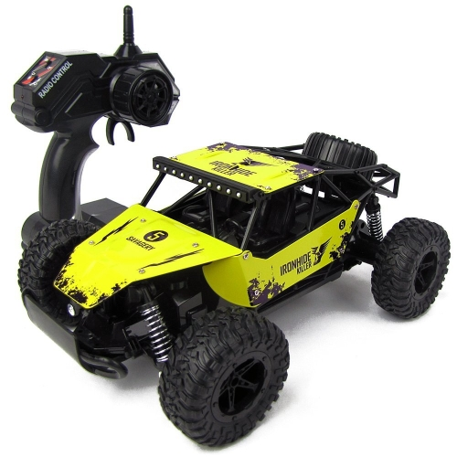 ESGOT ES-V211 RC Car 1:16 2.4GHz High Speed Radio Remote Control Truck Electric Control Car Off-Road Racing Car Yellow