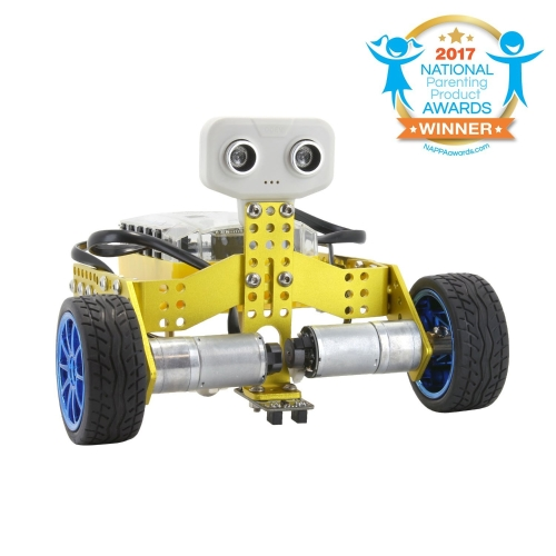 Tenergy ODEV Tomo STEM Robot 2-in-1 Transformable и Programmable APP Controlled Robot Vehicle Kit для детей Возраст 8+