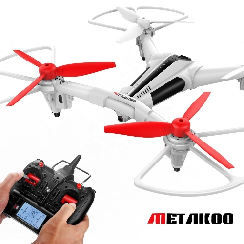METAKOO Drone with Camera Optical Flow Altitude Hold, X300 Quadcopter Drone with 2.0MP HD Camera 2.4G 4CH 6 Axis Remote Control Helicopter Headless Mode 3D Flip Helicopter with Remote Control