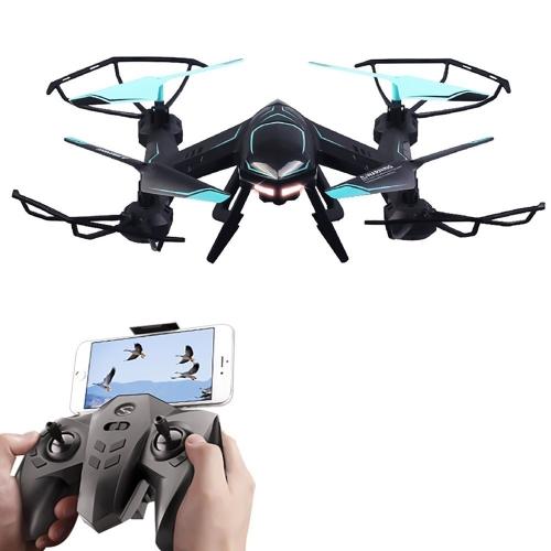 Rabing RC Quadcopter Voie de Vol FPV VR Wifi RC Drone 2.4 GHz 6-Axe Gyro Télécommande Drone Avec HD 2MP Caméra Drone